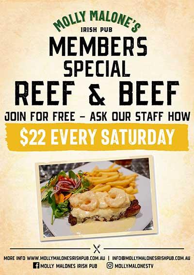Members Reef & Beef